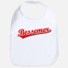 Retro Bessemer (Red) Bib