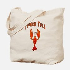 I Pinch Tails Tote Bag