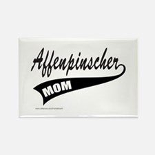 AFFENPINSCHER MOM Rectangle Magnet (10 pack)