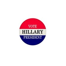 VOTE HILLARY Mini Button