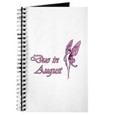Due August Pink W Fairy Journal