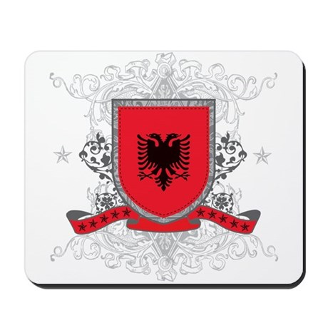Albania Shield Mousepad