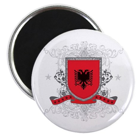"Albania Shield 2.25"" Magnet (10 pack)"