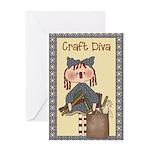 Crafting Greeting Card