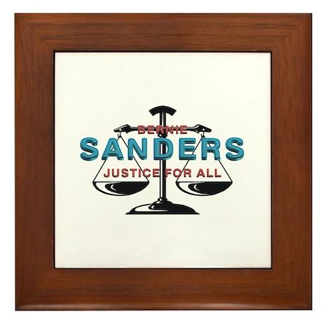 Bernie Sanders Framed Tile
