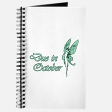 Due October Green W Fairy Journal
