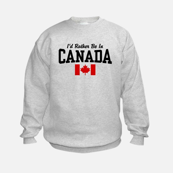 I'd Rather Be In Canada Jumpers