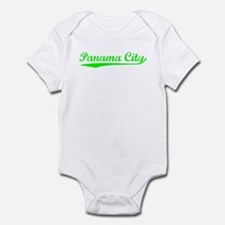 Vintage Panama City (Green) Infant Bodysuit