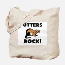 Otters Rock! Tote Bag