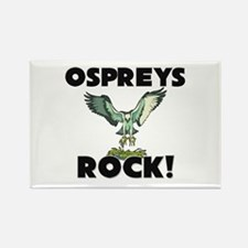 Ospreys Rock! Rectangle Magnet