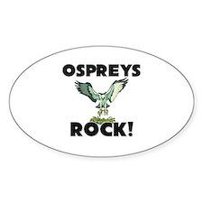 Ospreys Rock! Oval Decal