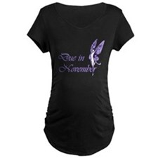 Due November Purple W Fairy T-Shirt