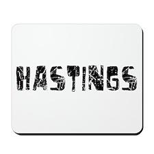 Hastings Faded (Black) Mousepad