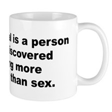 Funny Aldous huxley quotation Mug