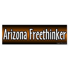 Arizona Freethinker Bumper Bumper Sticker