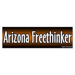 Arizona Freethinker Bumper Bumper Sticker