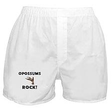Opossums Rock! Boxer Shorts