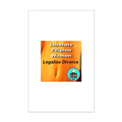 Liberate Filipino Women Legal Posters