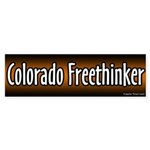 Colorado Freethinker Bumper Sticker