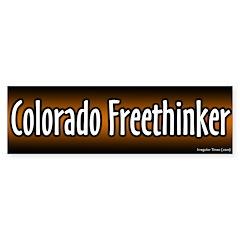 Colorado Freethinker Bumper Bumper Sticker