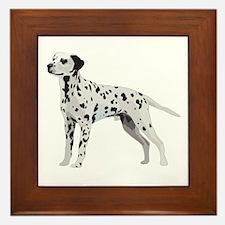 Proud Dalmatian Framed Tile