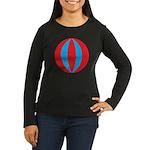 Beach Ball Women's Long Sleeve Dark T-Shirt