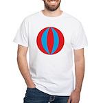 Beach Ball White T-Shirt