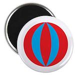 """Beach Ball 2.25"""" Magnet (10 pack)"""