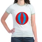 Beach Ball Jr. Ringer T-Shirt