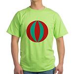 Beach Ball Green T-Shirt