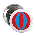 "Beach Ball 2.25"" Button (100 pack)"