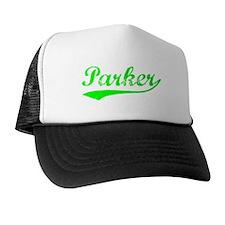 Vintage Parker (Green) Trucker Hat
