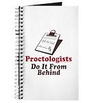 Proctologist Proctology Joke Journal