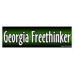 Georgia Freethinker Bumper Bumper Sticker