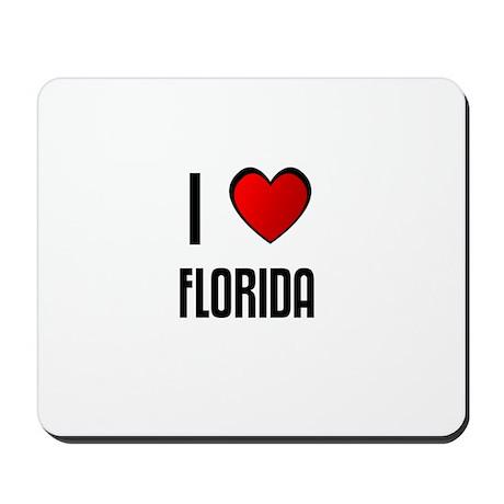 I LOVE FLORIDA Mousepad