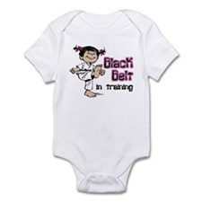 Black Belt in Training (Asian) Infant Onesie