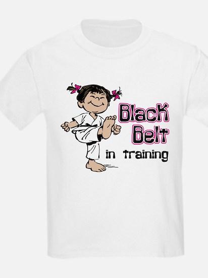 Black Belt in Training (Asian) T-Shirt