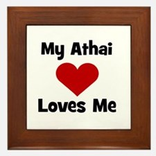 My Athai Loves Me! Framed Tile