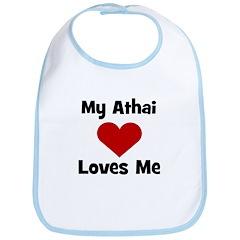 My Athai Loves Me! Bib