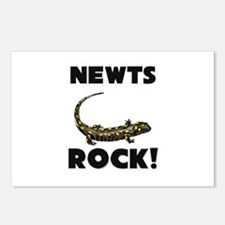 Newts Rock! Postcards (Package of 8)