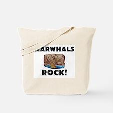 Narwhals Rock! Tote Bag
