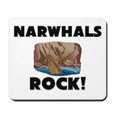 Narwhals Rock! Mousepad