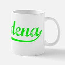 Vintage Pasadena (Green) Mug