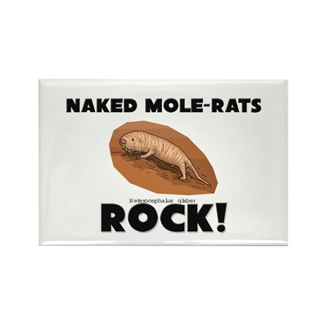 Naked Mole-Rats Rock! Rectangle Magnet (10 pack)