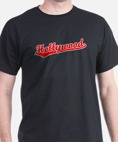 Retro Hollywood (Red) T-Shirt