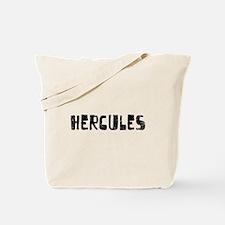 Hercules Faded (Black) Tote Bag