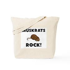 Muskrats Rock! Tote Bag