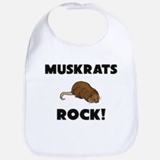 Muskrats Rock! Bib