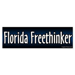 Florida Freethinker Bumper Bumper Sticker
