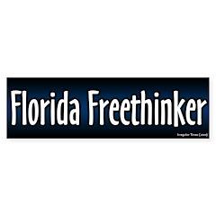 Florida Freethinker Bumper Bumper Sticker